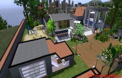 Современный дом Sims 3