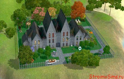 Загородный дом для Sims 3.