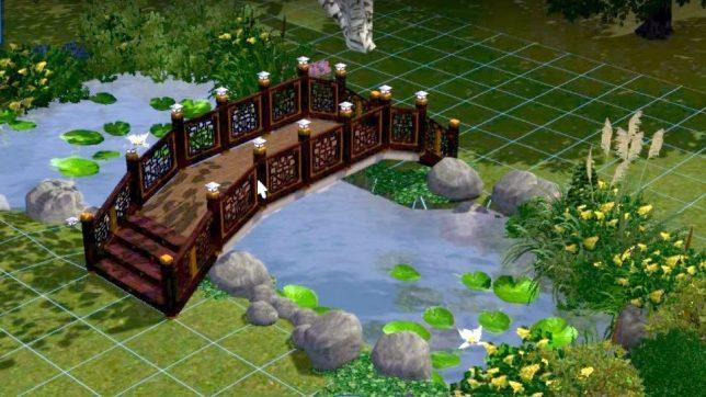 Как в симс 3 строить мост