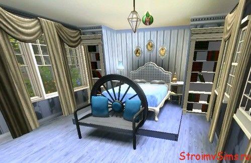 Оформление спальни в Симс 3 — стиль кантри