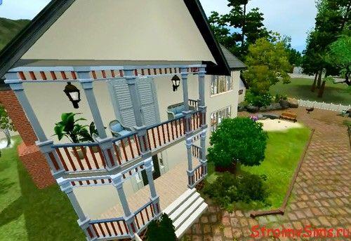 Как в симсе 3 сделать балкон 935