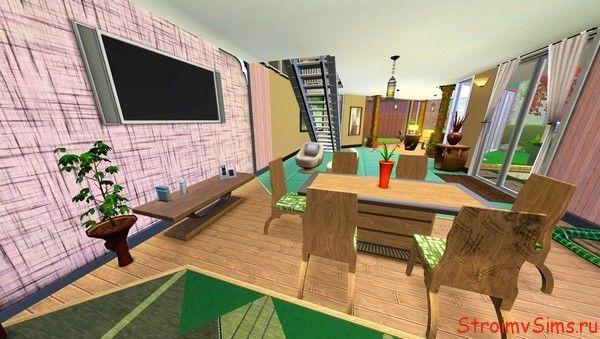 Гостиная в доме