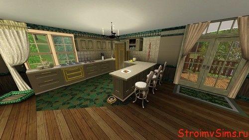 Кухня в доме для Симс 3