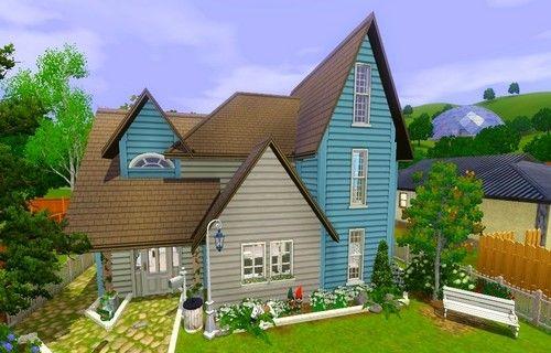 Строительство простого дома для Симс 3