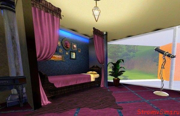 Комната звездочёта в Симс 3