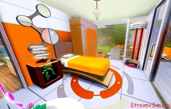 Спальня с уголком бота в Симс 3