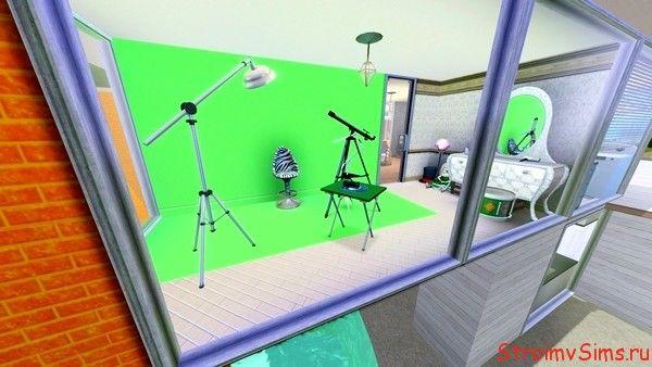 Домашняя фото-студия в Симс 3