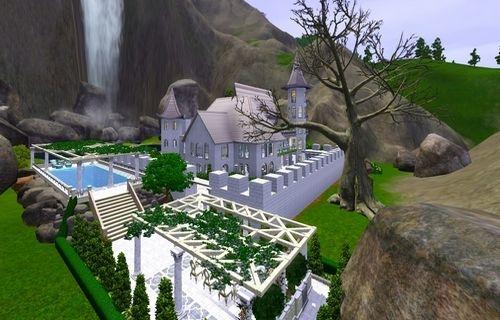 Симс 3 красивые дома
