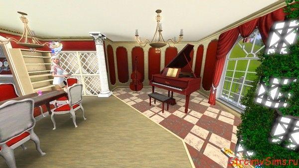 Зонирование зала в симс 3