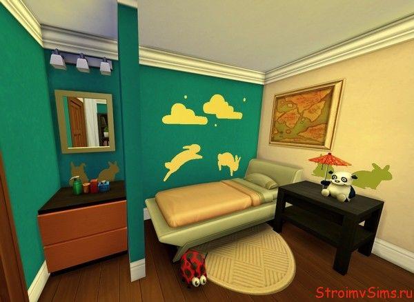 Спальное место девочки подростка