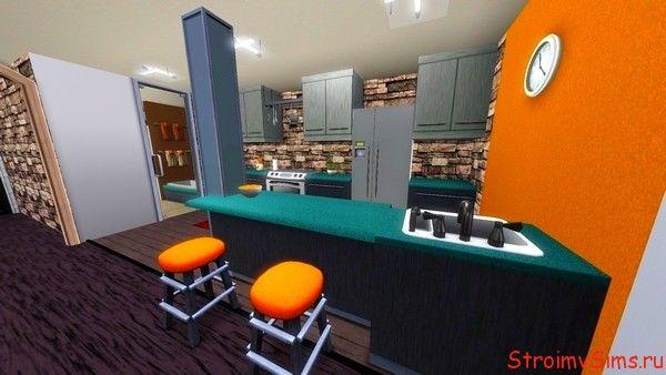 Кухня для базовой симс