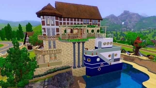 Строительство дома в sims 3