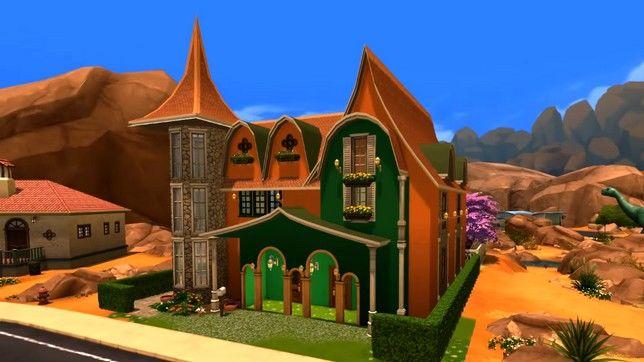 Строим в Sims 4 Дом эльфов
