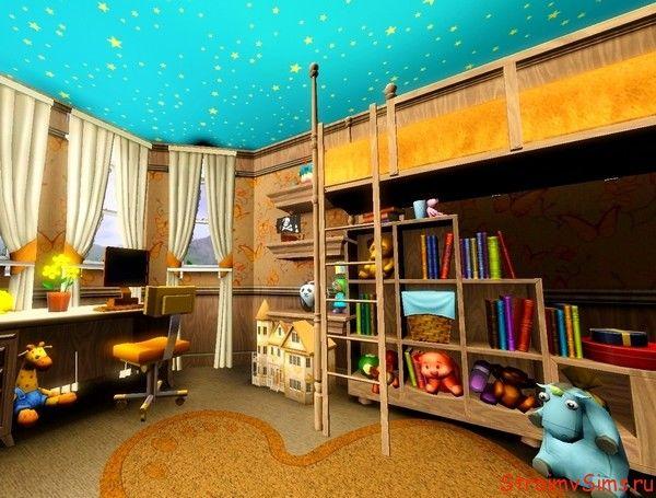 Детская комната для сима подростка