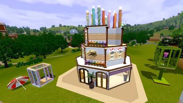 Строительство общественного участка в Симс 3