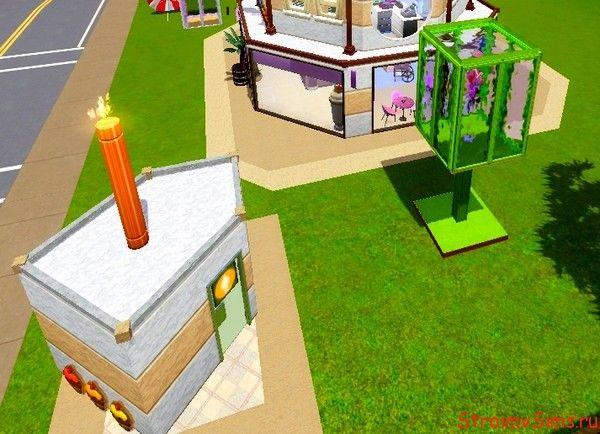 Оформление зданий в стиле праздничной сервировки