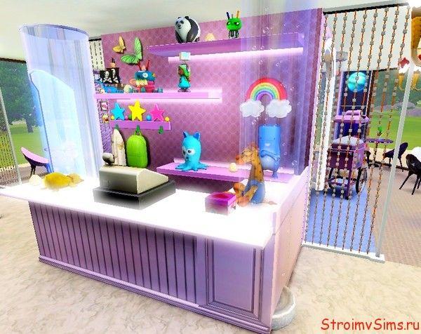 Мини-отдел магазина в фойе торгового центра «Торт»