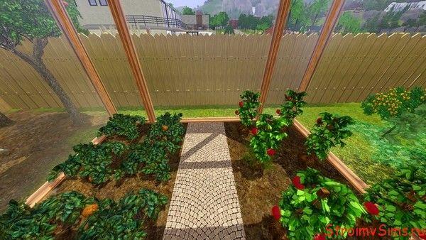 Огород для Симс 3