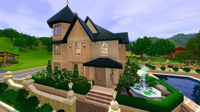 Строительство загородного дома в The Sims 3