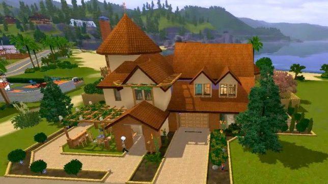 Дом для базовой The Sims 3
