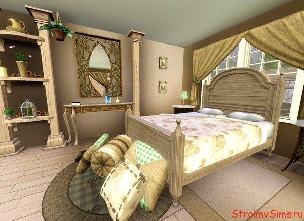 Дизайн семейной спальни для The Sims 3