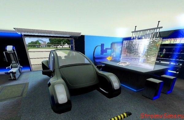 Дизайн гаража для симов