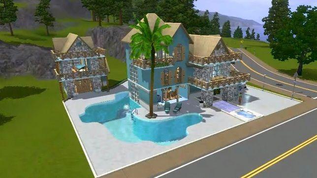 Строим в Симс 3 дом «Бамбук»