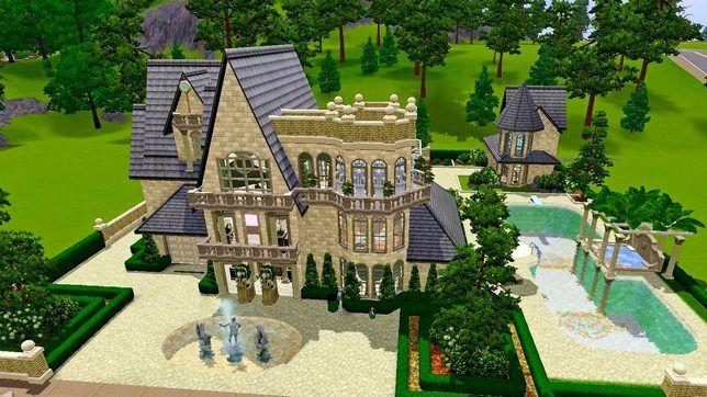 Дом для The Sims 3 «Гаргулья»