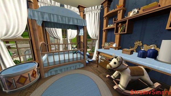 Оформление детской в The Sims 3