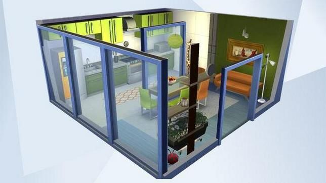 Как установить скаченный дом в Симс 4