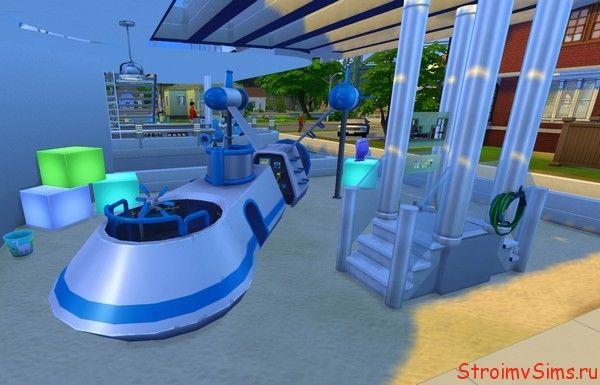 Игровая площадка в Симс 4