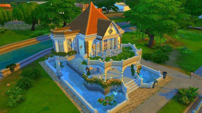 Строительство дома в The Sims 4