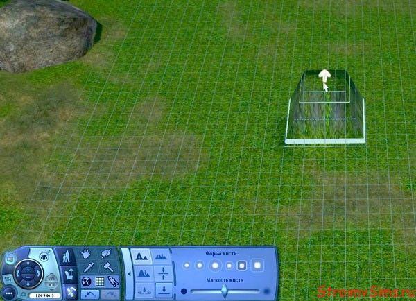 Делаем основу водопада для The Sims 3