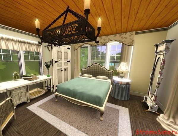 Спальня для пары родителей симов