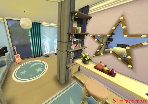 Как украсить комнату девочки подростка для The Sims 4