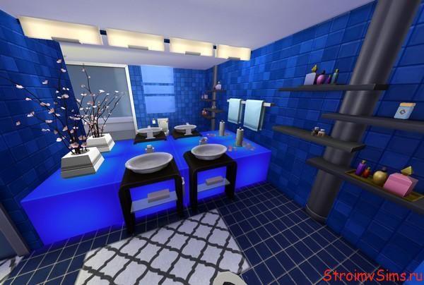 Как можно построить ванную в Симс 4