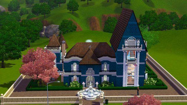 Строим в Симс 3 домик с тайной комнатой и привидениями
