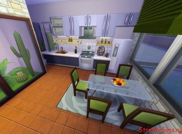 Дизайн современной кухни в Симс 4
