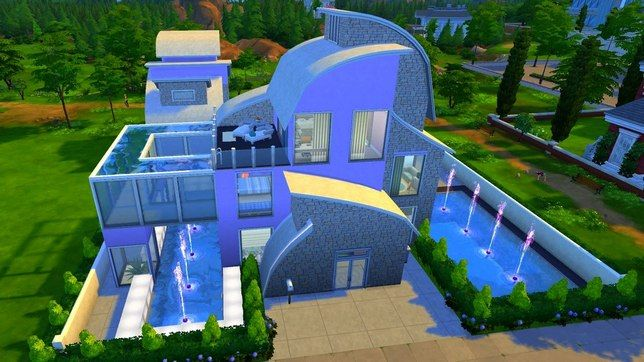 Строим в Симс 4 - дом Violet