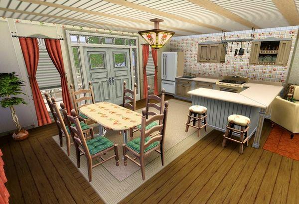 The Sims 3 кухня прованс