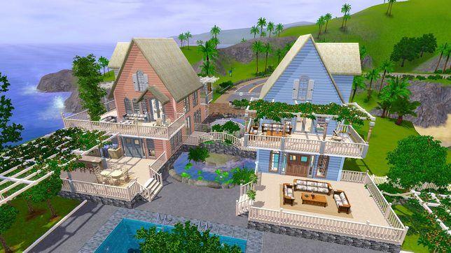 Строительство в The Sims 3 дома для двойняшек