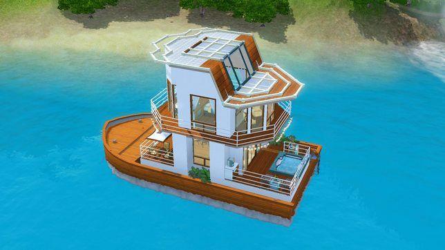 Строительство хаусбота в The Sims 3