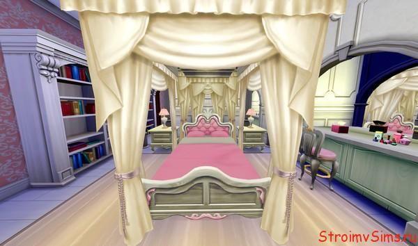 Как в Симс 4 сделать спальню
