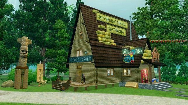 Как строить в The Sims 3 Хижину чудес