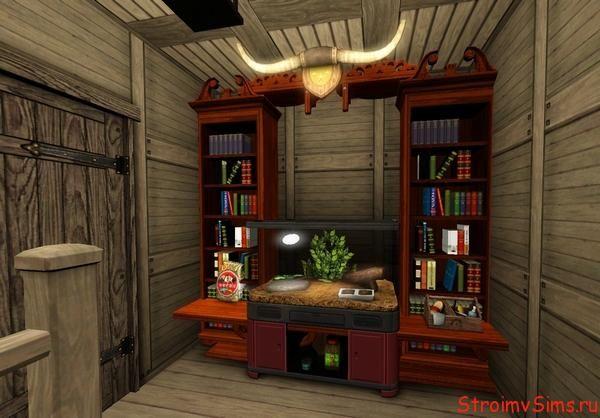 Как можно сделать мебель для хижины с кодом Moveobjects