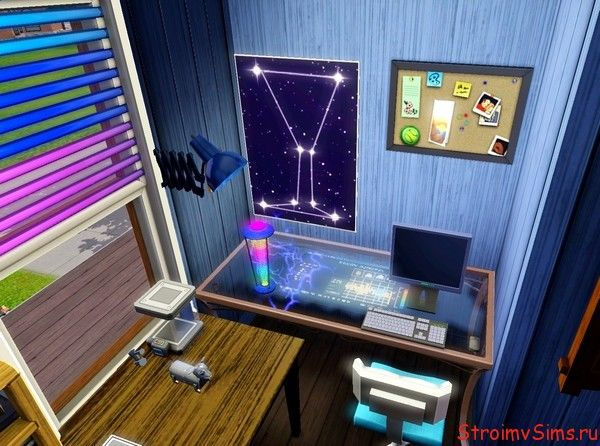 Рабочее место в The Sims 3.