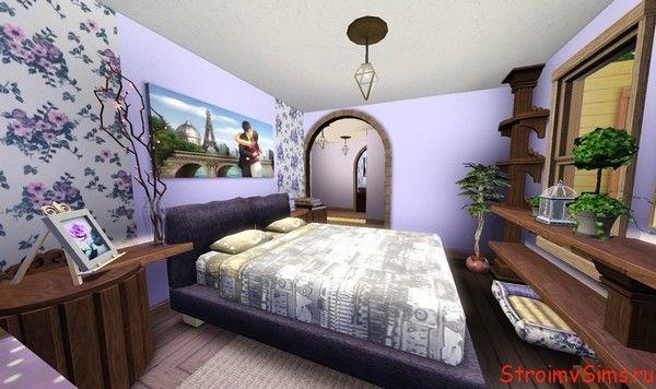 The Sims 3 комната родителей.