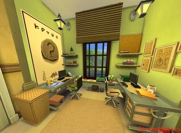 Как построить в The Sims 4 детскую комнату
