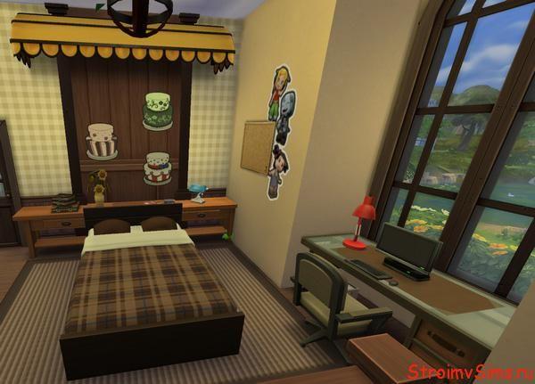 Дизайн спальни гостевого дома