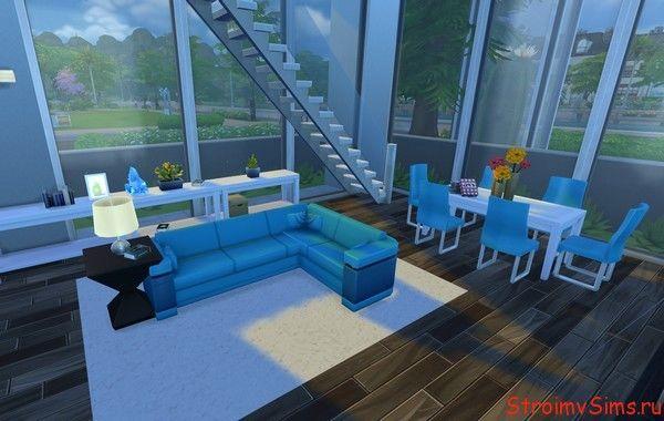 Как оформить гостиную для симов